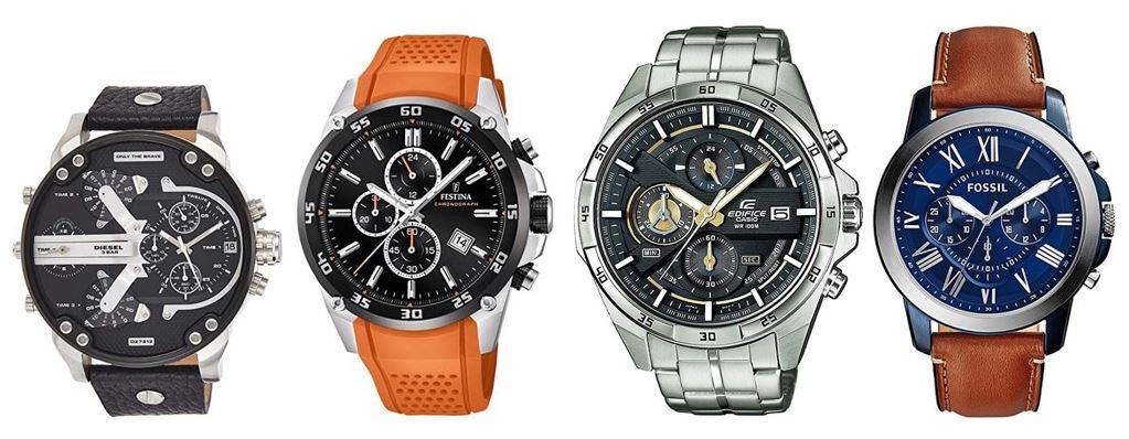 comparatif montres chronographe pour homme
