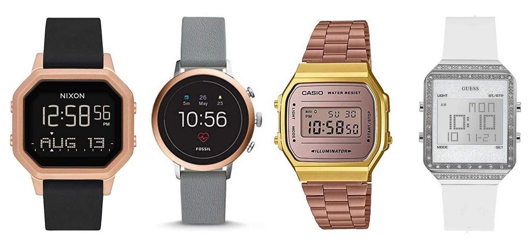 comparatif montres digitales pour femme