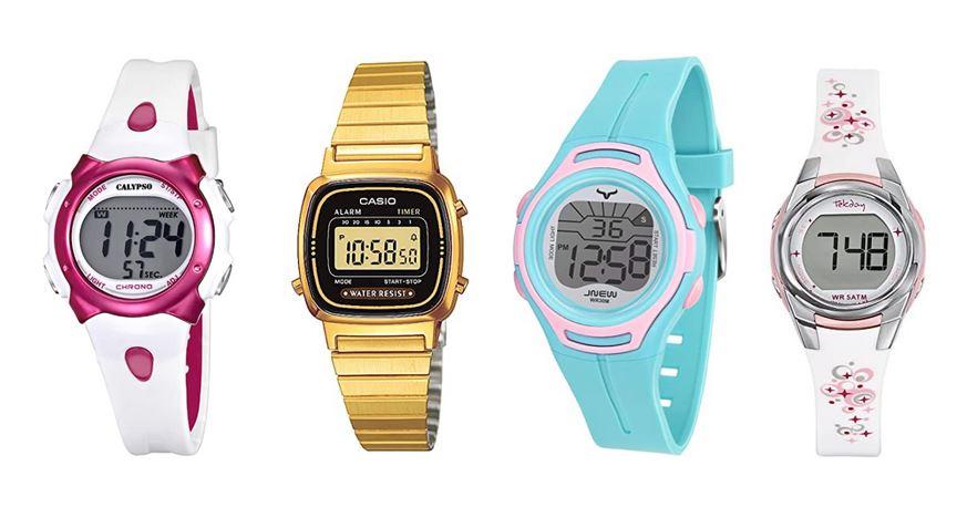 comparatif montres digitales pour fille