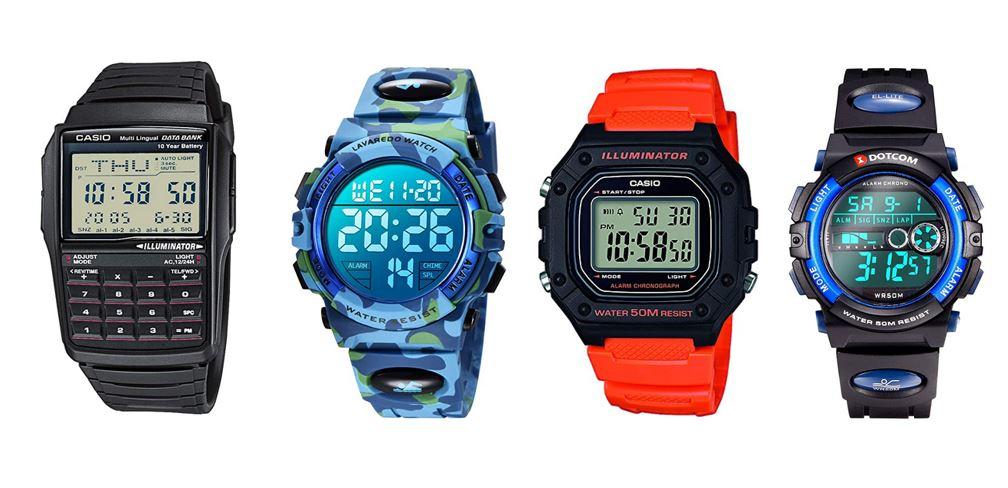 comparatif montres digitales pour garcon