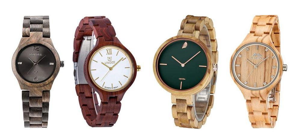 comparatif montres en bois pour femme