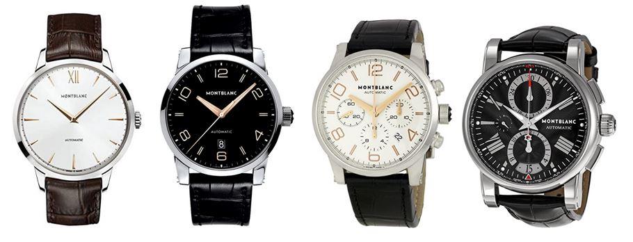 comparatif montres montblanc pour homme