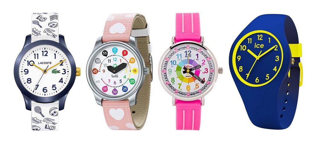 comparatif montres pour enfant