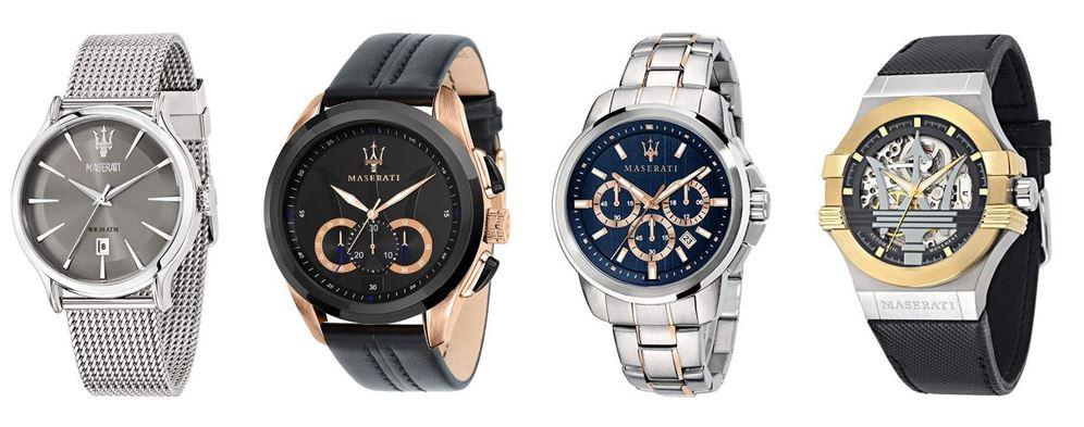 comparatif montres pour homme marque Maserati