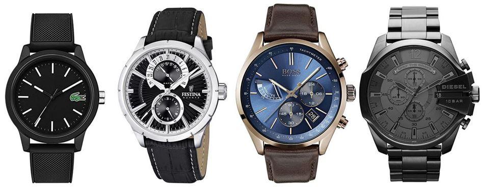 comparatif montres pour homme toute categories confondues