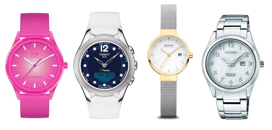 comparatif montres solaires pour femme