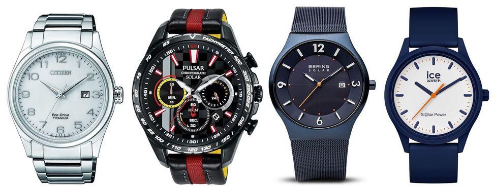 comparatif montres solaires pour homme