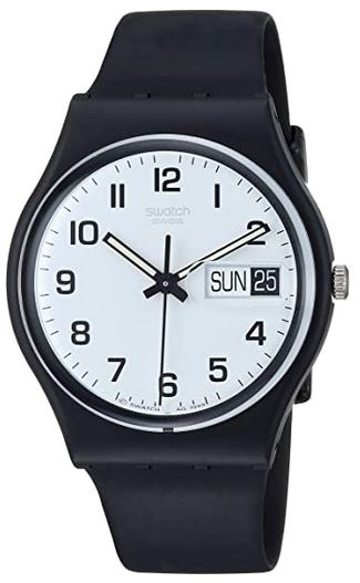 modele masculin classique noir BG743 de Swatch