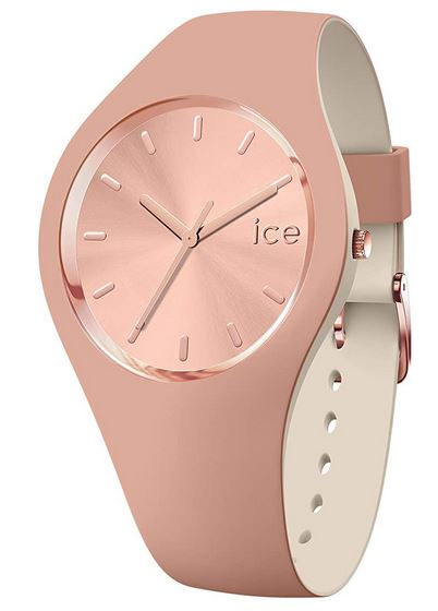 montre Ice Watch Ice Duo Chic Blush pour femme couleur rose gold