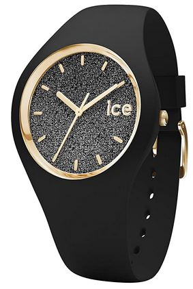 montre Ice Watch Ice Glitter Black pour femme