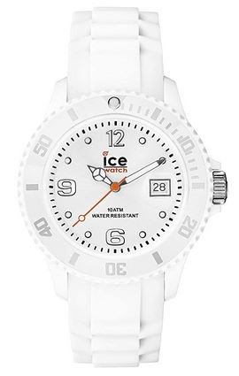 montre Ice Watch masculine modele Ice Forever white