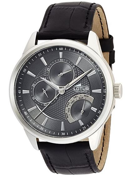 montre Lotus masculine a quartz