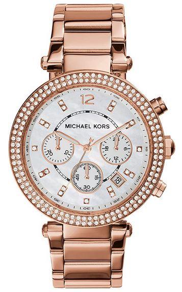 montre Michael Kors feminine chronographe MK5491 a quartz