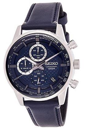 montre Seiko homme SSB333P1