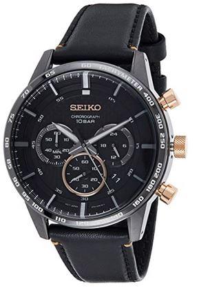 montre Seiko homme SSB361P1