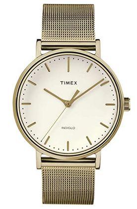 montre Timex The Fairfield pour femme couleur or vintage effet passe