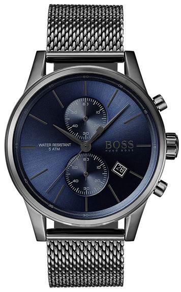 montre bleu Hugo Boss pour homme 1513677