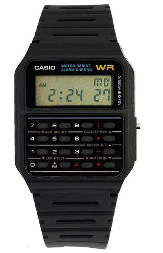 montre calculatrice pour homme Casio