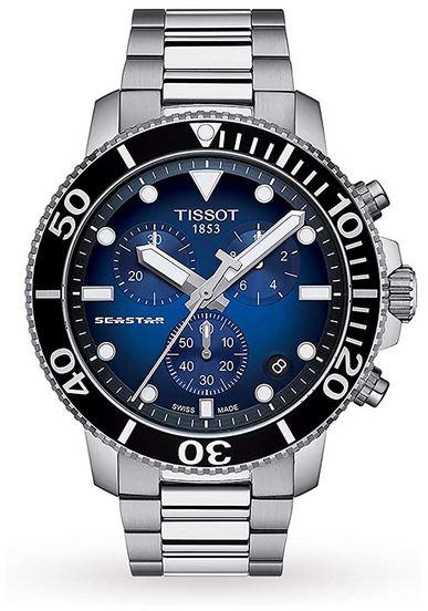 montre chronographe modele Seastar de la marque Tissot