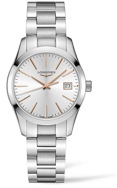 montre de luxe pour femme Longines Conquest Classic