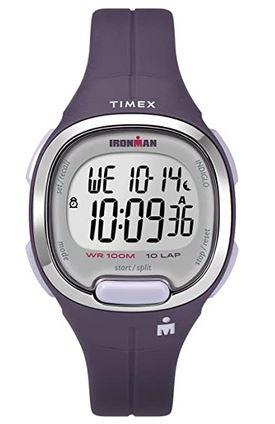 montre digitale Timex Ironman pour femme de couleur violette