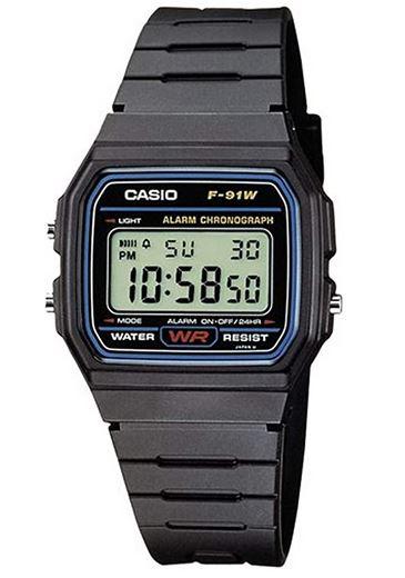 montre digitale pas cher Casio pour homme modele F 91W 1YER
