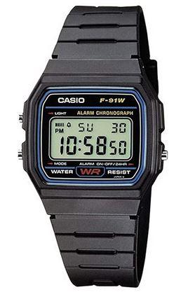 montre digitale pour homme Casio F 91W