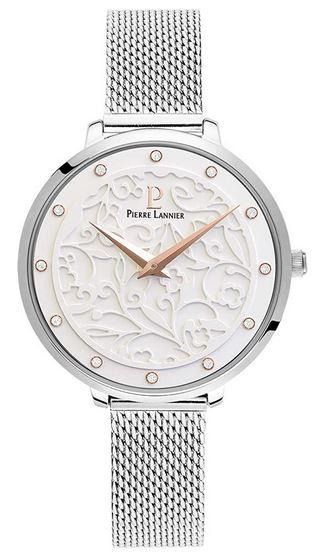 montre feminine a affichage analogique marque Pierre Lannier modele 040J608