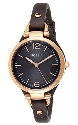 montre feminine a moins de 100 euros de la marque Fossil