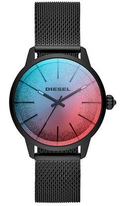 montre feminine avec cadran multicolor de la marque Diesel