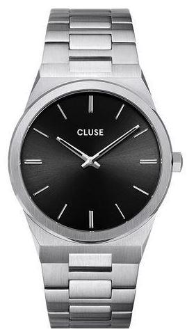 montre masculine Cluse modele vigoureux silver black