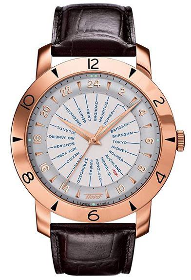 montre masculine de luxe Tissot Heritage navigator