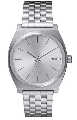montre masculine en acier inoxydable de la marque Nixon