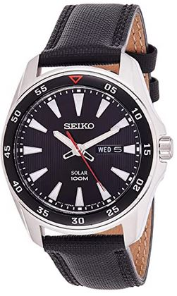 montre masculine solaire de Seiko