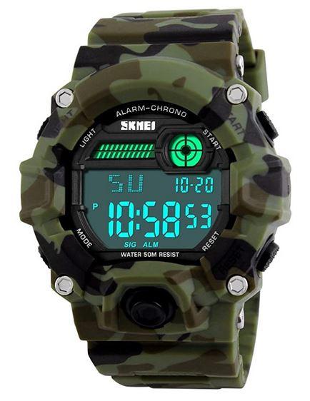 montre militaire digitale Shen