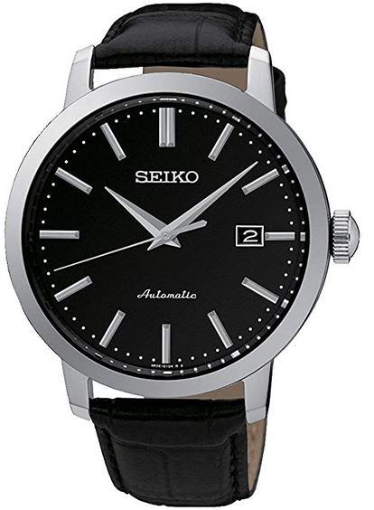 montre mixte noir Seiko