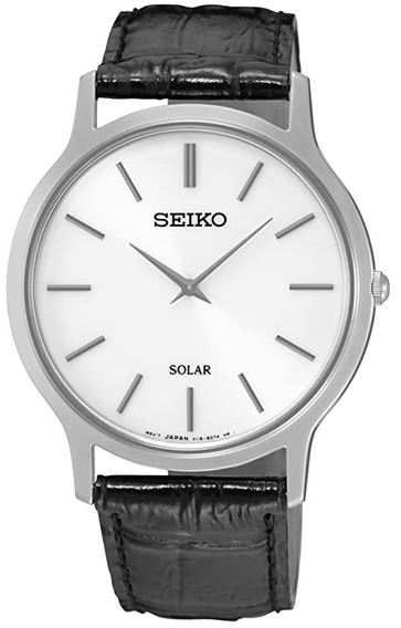 montre pour femme a energie solaire de la marque Seiko modele SUP873P1
