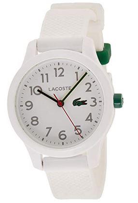 montre pour garcon Lacoste vert et blanche
