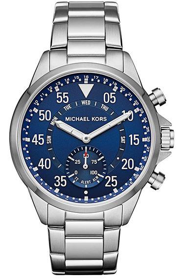 montre pour homme Michael Kors MKT4000 en acier inoxydable plaque