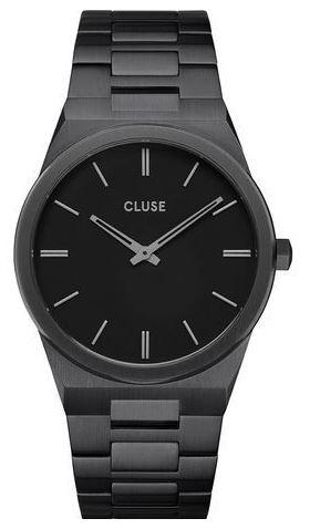 montre pour homme cluse modele Vigoureux full black noir total