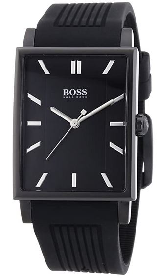 montre rectangulaire homme Hugo Boss
