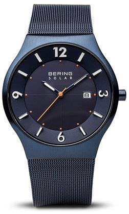 montre solaire Bering pour homme