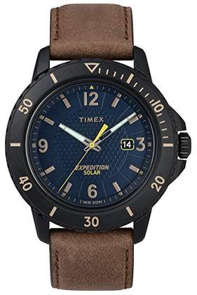 montre solaire Timex pour homme