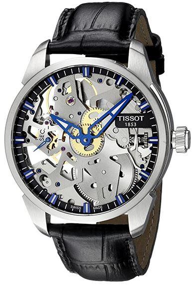 montre squelette pour homme Tissot