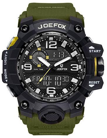 montre style militaire JoeFox