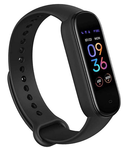 Amazfit Band 5 montre connectee fine de type bracelet trackeur dactivite pour homme et femme