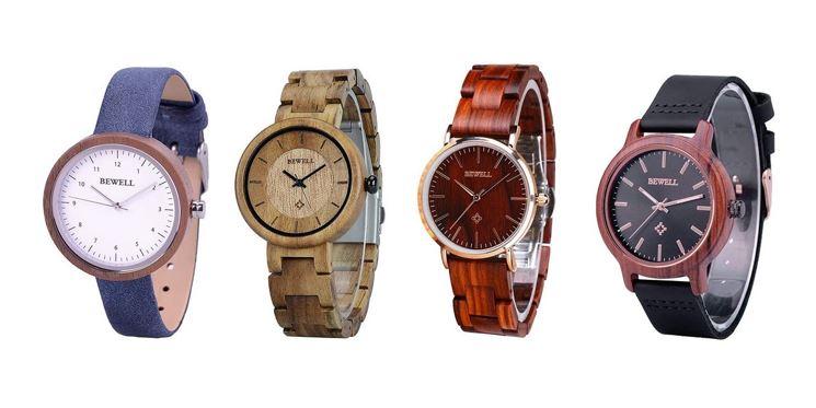 les meilleures montres Bewell en bois pour femme