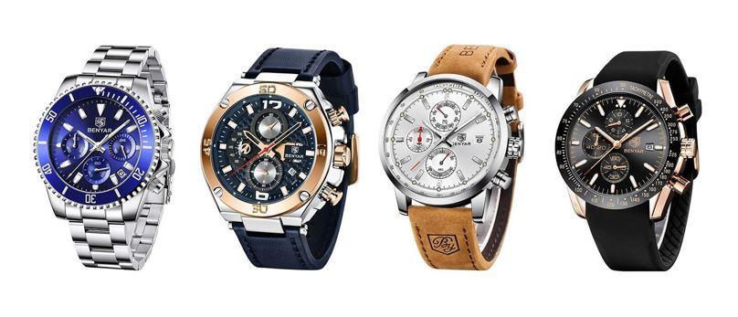 les meilleures montres By Benyar pour homme