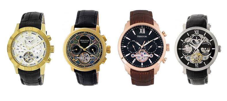 les meilleures montres Heritor pour homme