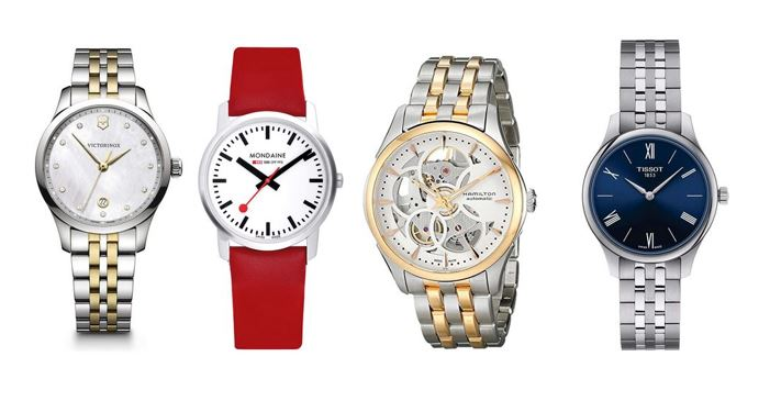 les meilleures montres Suisses pour femme